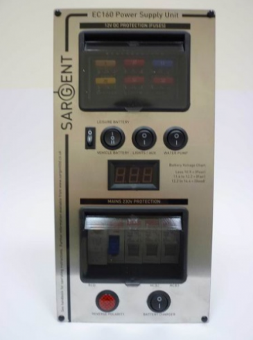 Sargent Silver EC160 Power Supply Unit Deluxe - Vertical